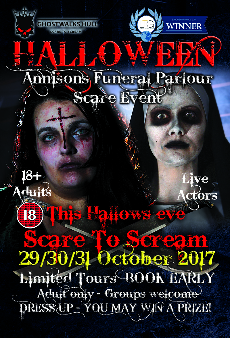 Scare events, most hanunted hull