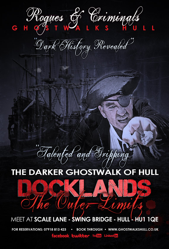 docklands ghost walk most hanunted hull